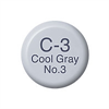 Copic Ink and Refill C3 Cool Grey 3*ND*