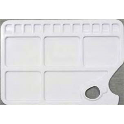 """Palette Richeson Plastic Rectangle 17 Well 9.5""""x13.75"""""""