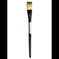 Brush Black Silver SH Stroke 3/4