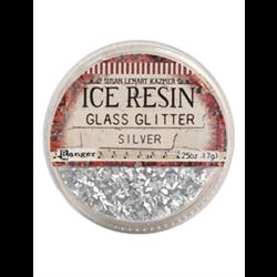 Ranger Ice Resin German Glass Glitter Silver **ND**