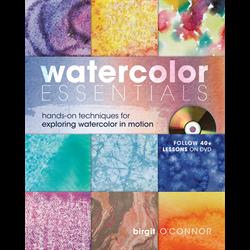 Book Watercolor Essentials by Birgit O'Connor **ND**