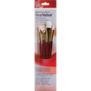 Brush Set 9120 Real Value Series - White Taklon Set of 4 brushes