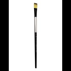 Brush Black Silver LH Flat 18