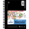 Canson Montval Watercolor CP Coil 5.5x8.5 140lb