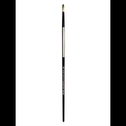 Brush Black Silver LH Round 16