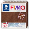 Fimo Leather Effect Modelling Clay 2oz. Nut