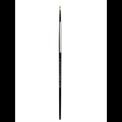 Brush Black Silver LH Round 4