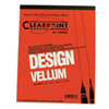 "Clearprint Design Vellum 11""x17"" 50 Sheet Pad (1000HP)"