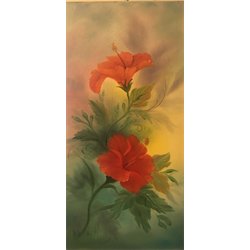 """""""Floral"""" Oil Painting Class with Kathryn Walalck"""