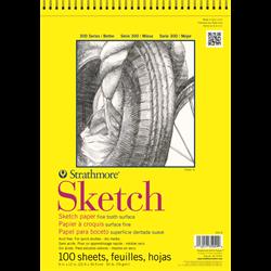 """Strathmore 300 Sketch Wire Bound 18""""x24"""""""
