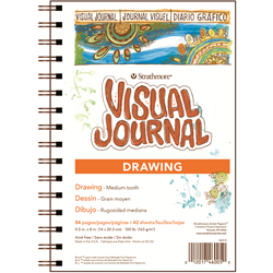 """Strathmore Visual Journal 400 Drawing 5.5"""" x 8"""""""
