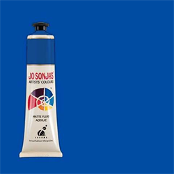 Jo Sonja Artists' Matte Flow Acrylic 75ml Cobalt Blue Hue 012