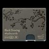 SM.LT Haiku Cards Black Drawing 300gsm 24shts **ND**
