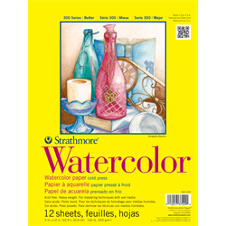 """Strathmore 300 Watercolor Tape Bound 9""""x12"""""""