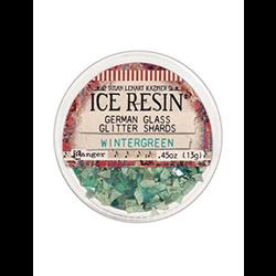 Ranger Ice Resin German Glass Glitter Wintergreen **ND**