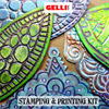 Additional images for Gelli Arts Stamp and Printing Kit **ND**