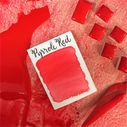 Stoneground Watercolour Half Pan Pyrrole Red **ND**