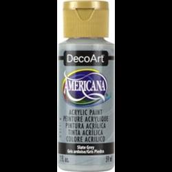 Americana Acrylic Slate Grey 2oz **ND**