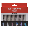 Additional images for Amsterdam Acrylic Standard Set 6X20ML PEARL **ND**