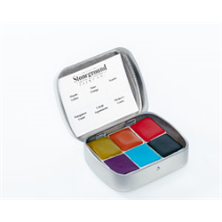 Stoneground Watercolour Palette - 6pc Spring **ND**