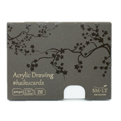 SM.LT Haiku Cards Acrylic Drawing 420gsm 20shts **ND**