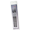 Black Silver Brush Set BS-SH-1