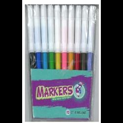 Montrose Fine Line Markers 10 count