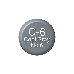 Copic Ink and Refill C6 Cool Grey 6 *ND*