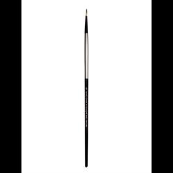 Brush Black Silver LH Round 10