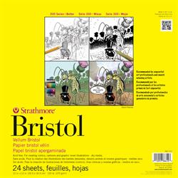 "Strathmore 300 Bristol Vellum Tape Bound 11"" x 17"""
