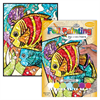 Royal & Langnickel Foil Paint by Numbers Tropical Fish
