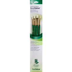Brush Set 9118 Real Value Series - Bristle Set of 4 brushes - LH