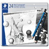 Staedtler Lumograph Pencil Set of 24