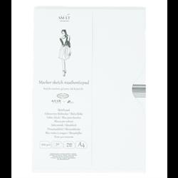 SM.LT authenticpad Folder Marker Sketch A4 100gsm 50shts **ND**