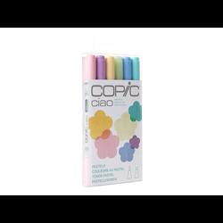 Copic Ciao Set 6pc Pastels tone **ND**