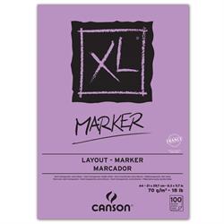 Canson XL Marker Pad 9x12 18lb