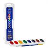 Prang Professional Oval Pan Watercolour Set 8 Colours w/brush refillable (0800)