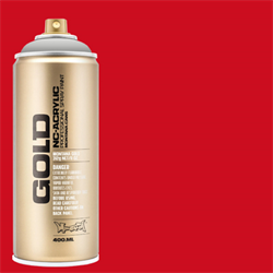 Montana GOLD Spray Shock Red - 400ml **ND**