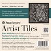 """Strathmore Artist Tiles 400 Artagain Coal Black 6""""x6"""""""