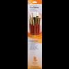 Brush Set 9155 Real Value Series - White Taklon Set of 5 brushes - LH