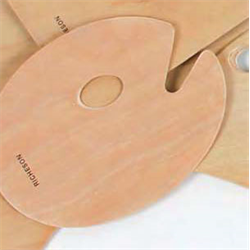 """Palette Richeson Wood Oval 10""""x14"""""""