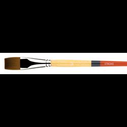 "Brush Princeton SNAP Gold Taklon Stroke #3/4"""