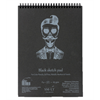 SM.LT authenticpad Coil Sketch Black A4 165gsm 30shts **ND**