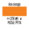 Additional images for Amsterdam Standard Acrylic 120ML AZO ORANGE 276 **ND**