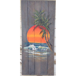 """//Done-4Week """"Life is a Beach"""" Airbrush Class with Dale Lawrence, Jun 7 - 28, 18"""